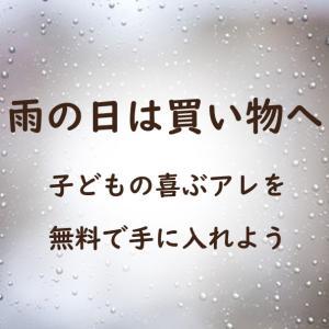 雨の日の遊びのアイディア ~子どもの喜ぶアレを無料で手に入れよう~