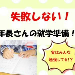 【失敗しない!】年長さんの通信教育選び! 入学準備もこれでバッチリ!