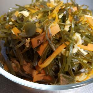 切り昆布の超簡単な常備菜
