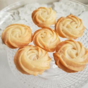 エレガントなバラのクッキーを作るはずが❗