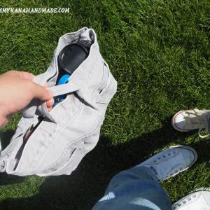 破れたジーンズですら捨てられない…。