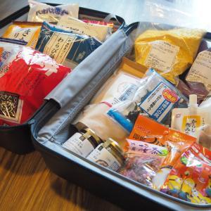 日本からアメリカに持ち帰ったお気に入りの食材たち。