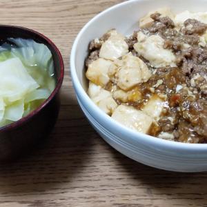 2020.9.18(金)ついに芝、麻婆豆腐