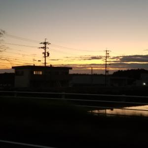 朝日と青空と愚痴