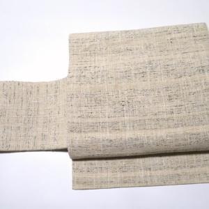 合わせやすい紙布織りの八寸名古屋帯×お洒落な紬3点♪