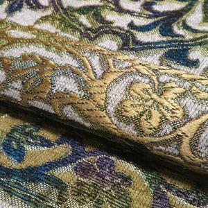 これからの季節お勧めの小紋2点と横段に唐草花の洒落袋帯