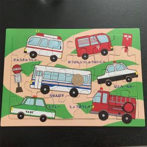 3歳から始める知育パズルpart2 ~セリアでパズル買ってみた~