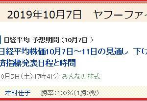 ヤフーファイナンス フォローチャート 日経平均株価とNEC