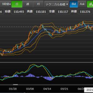 2021年8月5日~11日までの為替見通し ドル円