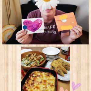 産後14日★パパのお誕生日★キッチン復帰!