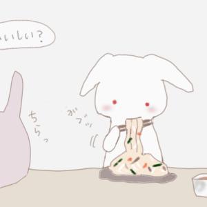【62】細麺パスタで塩やきそば | 友達とおうちランチ♡