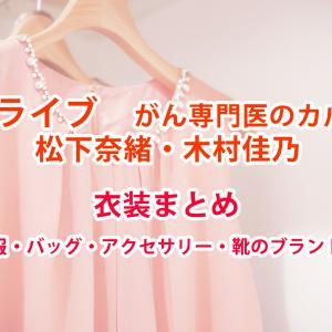 アライブ松下奈緒・木村佳乃の衣装は?服・バッグ・アクセサリー・靴のブランド情報まとめ