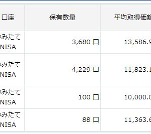 34.つみたてNisa19日目