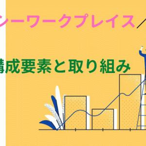 【ヘルシーワークプレイスの取り組み】4つの構成要素