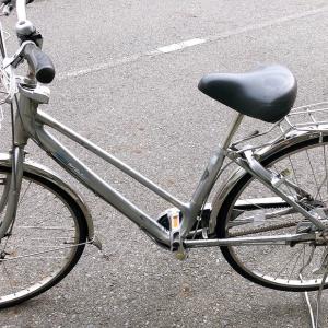 感謝の自転車