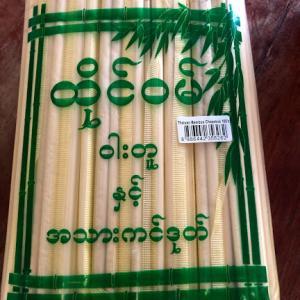ミャンマー 割りばし
