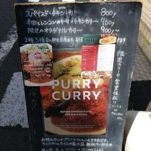 梅ヶ丘:スパイスカレーの人気店Purry Curry (パリーカリー)でカラフルなチキンプレートをオーダー