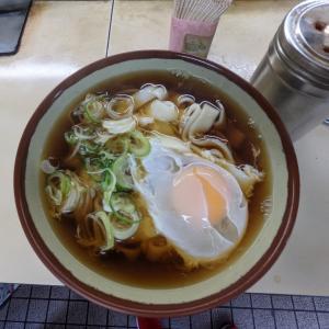 横浜:横浜駅の名物『きそば 鈴一』できしめんの朝食