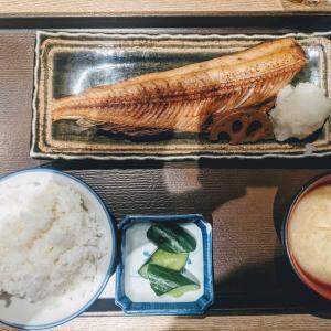 芝公園・三田:『葱や平吉 芝店』のホッケ定食