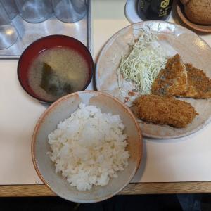 渋谷:渋谷の老舗定食屋『とりかつ チキン』でランチ♪