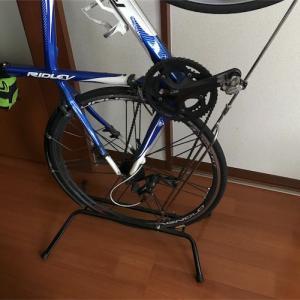 【ロードバイク】横、縦に使えるディスプレイスタンド!