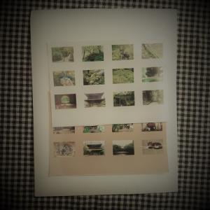 写真を分割プリントして手帳やノートに貼ると便利