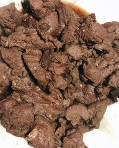 鹿肉の焼き肉