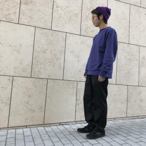 【紫コーデメンズ】パープルファッションの着こなしをご紹介|トレーナーやニット帽から取り入れてみよう!