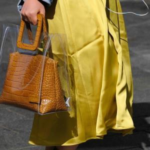 人気ブランドのビニールバッグ|おしゃれメンズコーデに必須透明PVCバッグ