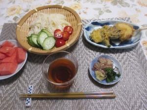 栄養不足の晩ご飯
