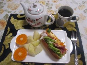 モリモリドックの朝ご飯
