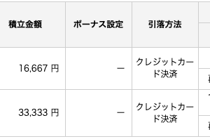 楽天証券でのつみたてを5万円に変更!SBIでももうすぐ!