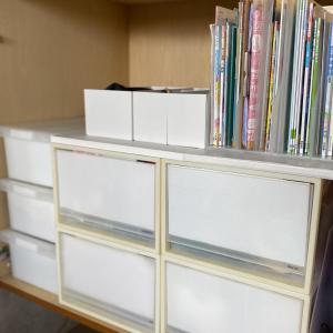 【収納】無印ファイルボックスハーフで給食セット収納