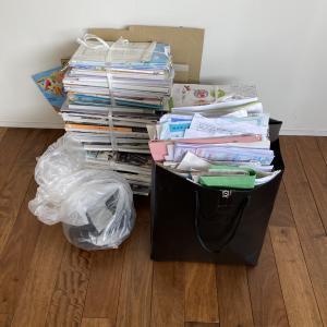 【片づけ】年度末恒例、子どもと書類・教科書整理