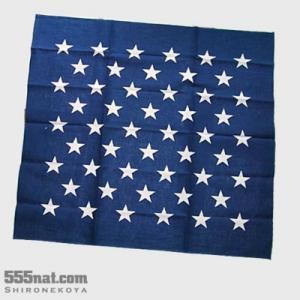 ミッドセンチュリー星条旗バンダナ