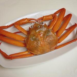 今宵のごはんは即席豚の西京漬けに半額のズワイ蟹など