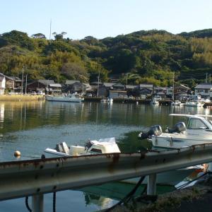 高倉健さんが乗った舟(映画「あなたへ」のロケ地:薄香)