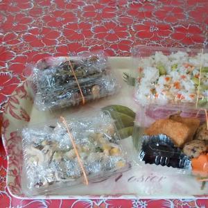 Hさんの『自家製ひじき料理&枝豆ごはん&抹茶ムース』はプロの味です♡