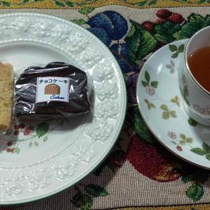 お茶タイムは癒しのひと時です