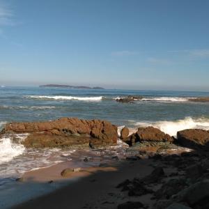 秋の三苫海岸