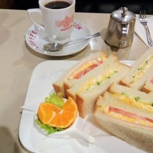 【青森市内観光・1泊2日1人旅・絶品グルメ】純喫茶マロンでサンドウィッチ