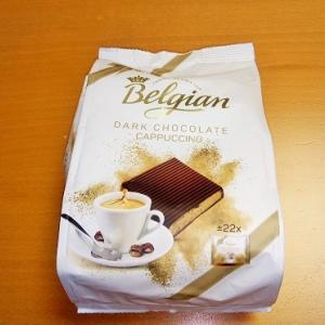 belgian dark chocolate cappuccino(ベルジアン スクエア ダークチョコレート)が美味しい
