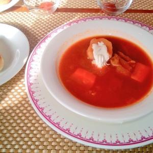 佐藤優氏の影響で、ロシア料理を食べに行った