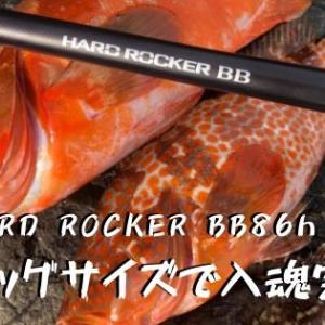 ビッグアカハタで入魂完了!HARD ROCKER BB 86H