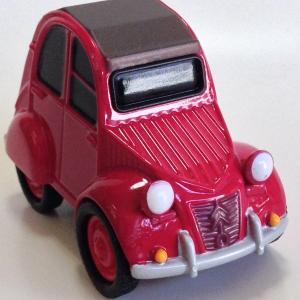 海洋堂 カプセルQ ワールドカーデフォルメ 欧州車編 2CV