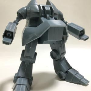 バンダイ模型 戦闘メカ ザブングル 1/144 プロメウスタイプ(その1)