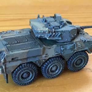 UCC 最強の陸自コレクション 87式偵察警戒車(リペイント)