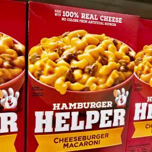 ハンバーガー・ヘルパー好き?