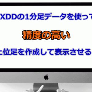 FXDDのヒストリカルデータをMT4にインポートして精度の高い足を表示させよう!