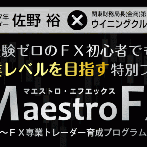 トレードの基本はこれで学べ!「Maestro FX (マエストロFX)」